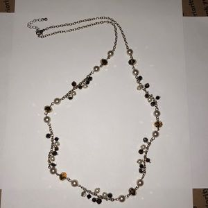 Forever 21 Long Beaded Necklace